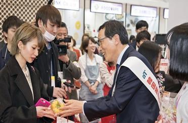 aT, 아시아 최대 규모 동경식품박람회 한국관 참가